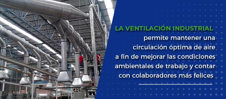 Ventilacion Industrial en El Salvador